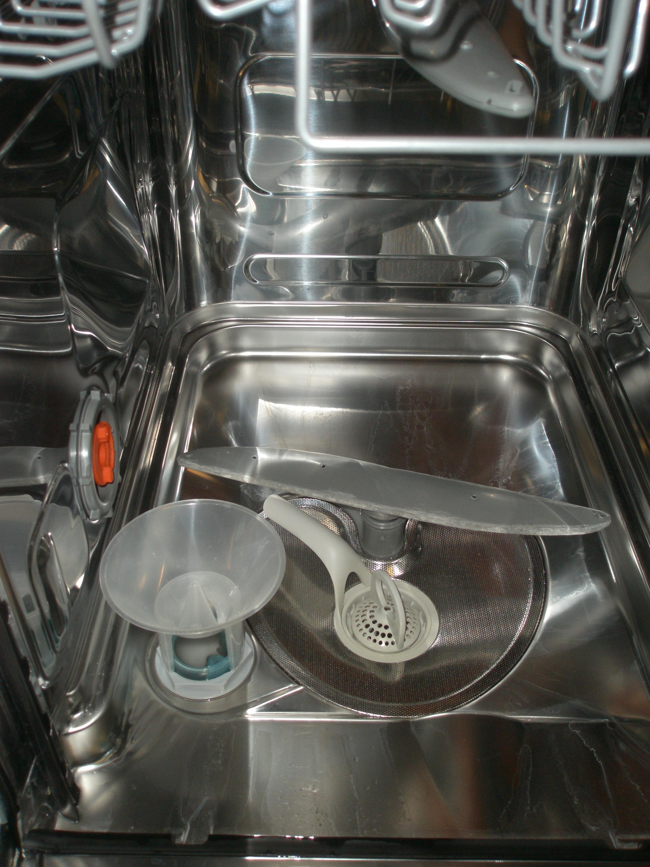 Когда сыпать соль в посудомойке